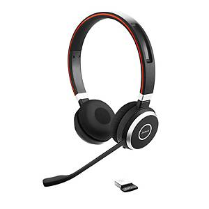 Headset Jabra Evolve 65 MS Duo/Stereo, inkl. Ladestation, Bluetooth
