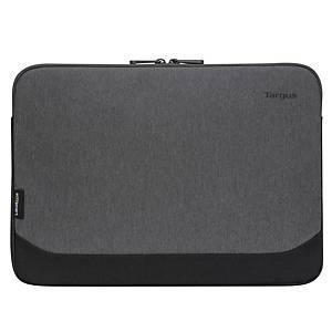 Targus EcoSmart Cypress Sleeve, voor laptops van 13 tot 14 inch, grijs