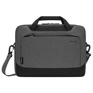 Mallette Targus EcoSmart Cypress, pour ordinateur portable 15,6  , gris