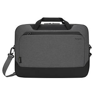 Targus EcoSmart Cypress aktetas, voor laptop 15,6 inch, grijs