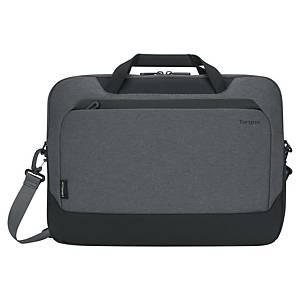 Sacoche ordinateur Targus Cypress EcoSmart®, en plastique recyclé, 15.6, gris