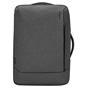 Targus EcoSmart Cypress Convertible rugzak, voor laptop 15,6 inch, grijs