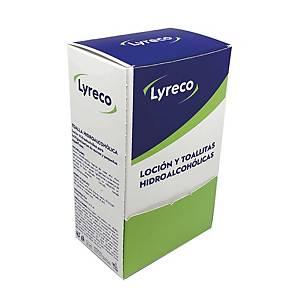 PK100 DISINFECTANT WIPE DISPENSER LYRECO