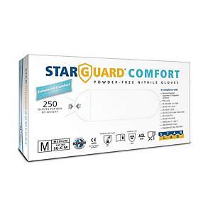 STARGUARD® COMFORT Einweg-Nitril-Handschuhe, Größe M, 250 Stück