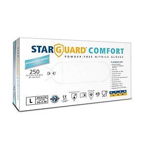 STARGUARD® COMFORT Einweg-Nitril-Handschuhe, Größe L, 250 Stück