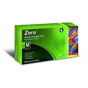 AURELIA® Zero® Einweg-Nitril-Handschuhe, Größe M, 200 Stück