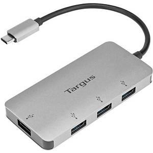 Targus Multi Hub, USB-C naar 4 USB-A