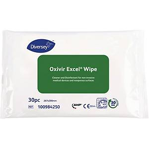 Våtservett Oxivir Excel, förp. med 30st.
