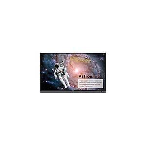 Monitor led interactivo BenQ - táctil de 75 pulgadas