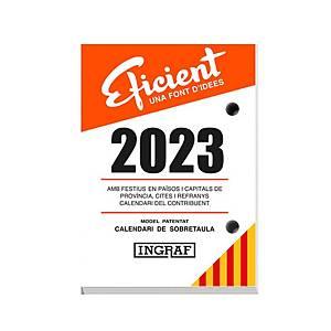 Bloc Buffet Efficiente Ingraf - 82 x 116 mm - catalán