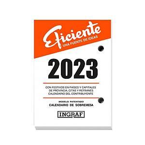 Bloc Buffet Efficiente Ingraf - 82 x 116 mm - castellano