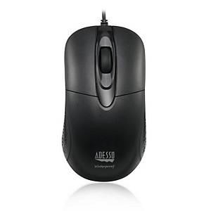 Vodotesná antimikrobiálna optická myš Adesso iMouse W4