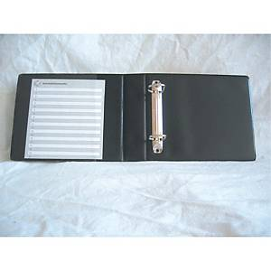 A5 2-RING BINDER FOR CD