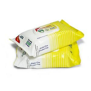 Detox Anti-Bacterial Wipes Lemon - Pack of 80