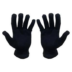 黑色女裝棉質勞工手襪中碼 12對裝