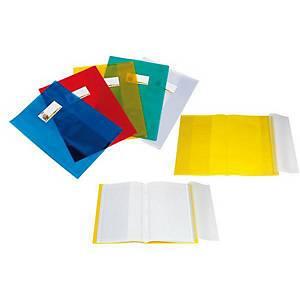 Copertina quaderno con alettte trasparenti Sei Rota giallo