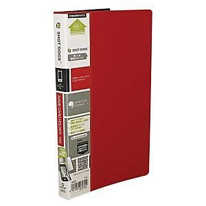 KING JIM 42SD 名片簿 120套 紅色