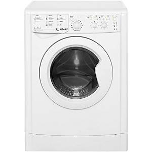 INDESIT ECO TIME IWDC6125 WASHER DRYER - WHITE