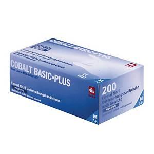 Cobalt Basic+ nitriilikäsine M, 1 kpl = 200 käsinettä