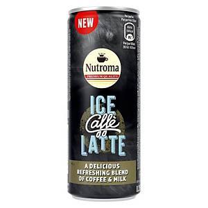 Nutroma Ice Caffè Latte, 25 cl, pak van 12