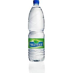 Eau minérale Valvert, 1.5 L, le paquet de 6