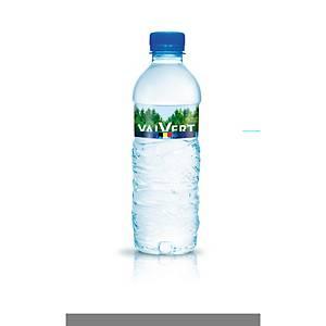 Eau minérale Valvert, 0.5 L, le paquet de 24