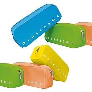 §Bustina silicone Pigna Monocromo Soft Touch 80x200x60mm colori assortiti fluo