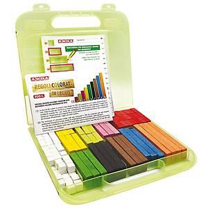 §Regoli numeri Arda legno colorati - conf. 200