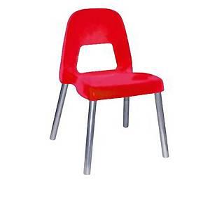 §Sedia per bambini CWR Piuma h 31 cm rosso