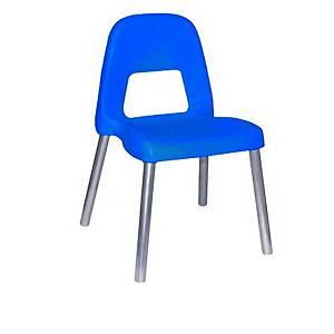 §Sedia per bambini CWR Piuma h 31 cm blu