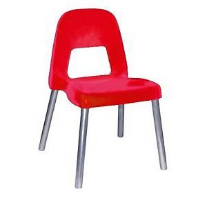 §Sedia per bambini CWR Piuma h 35 cm rosso