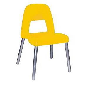 §Sedia per bambini CWR Piuma h 35 cm giallo
