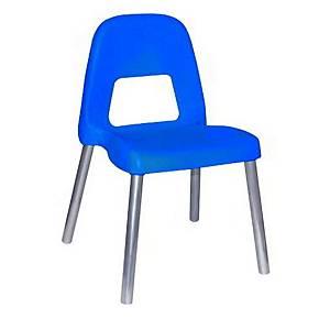 §Sedia per bambini CWR Piuma h 35 cm blu