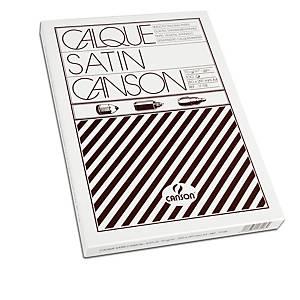 §Carta lucida Canson per fotocopie e stampe laser A4 90-95gr 100 Fogli