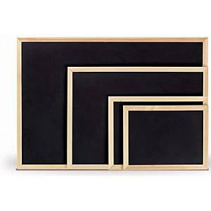 §Lavagna tipo ardesia monofacciale LMV con cornice in legno 60x90 cm