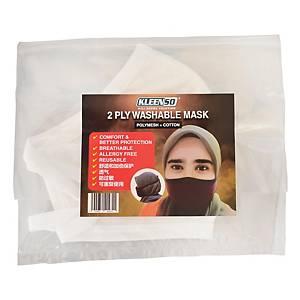 Kleenso Reusable Mask Ear-Loop - White
