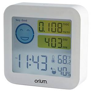 CO2 and VOC meter CEP Orium with temperature and humidity display