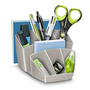 Lyreco Desktop Organizer 8 Compartments Grey