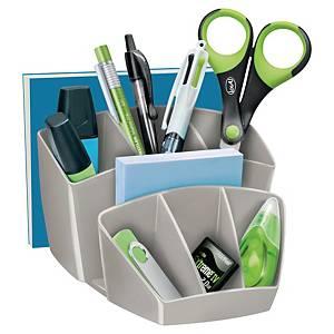 Lyreco Desktop Organizer 8 Compartments Grey