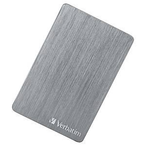 Disque dur HD Verbatim Store n  Go ALU, 2TB, gris spatial
