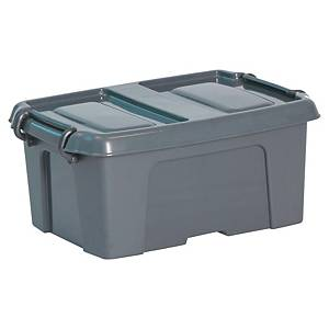 Caixa de armazenamento Cep HW250 - 12 L - cinzento