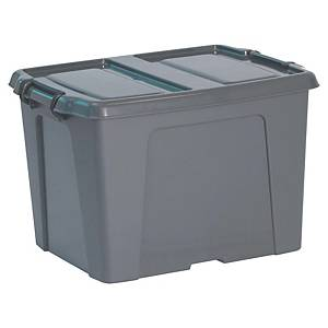 Caixa de armazenamento Cep HW253 - 40 L - cinzento