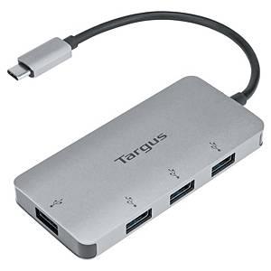 Targus USB-C naar 4-poorts USB-A-hub