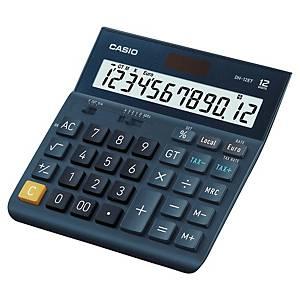 Casio DH-12ET rekenmachine voor kantoor, donkerblauw, 12 cijfers
