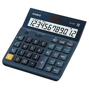 Stolní kalkulačka Casio DH-12ET, 12-místný displej, tmavomodrá