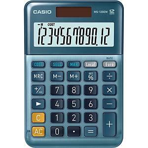 Calculadora MS-120EM - Casio - 12 dígitos