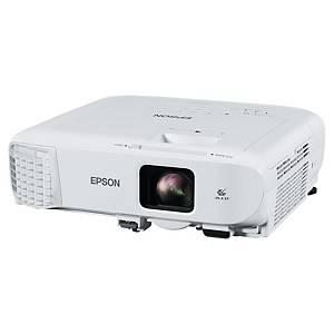 Projektor Epson EB-X49, 3LCD, biely