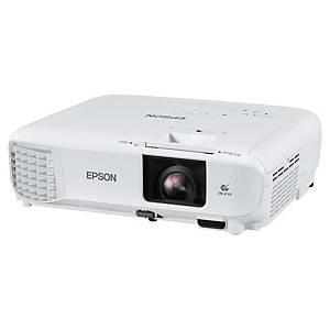 Projektor Epson EB-W49, 3LCD, biely