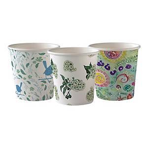 Kubeczki papierowe DUNI Art, 120 ml, 50 sztuk