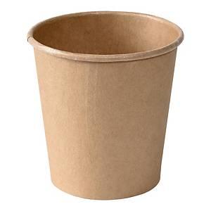 Kubeczki papierowe DUNI, 120 ml, 50 sztuk